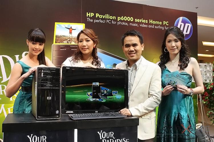 เอชพี เปิดตัว HP Pavilion p6000 PC โฮมพีซีสมบูรณ์แบบ