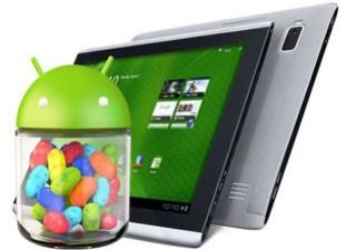 Android: Acer Iconia Tab จะได้อัพเดต Android 4.1 Jelly Bean ได้ !?