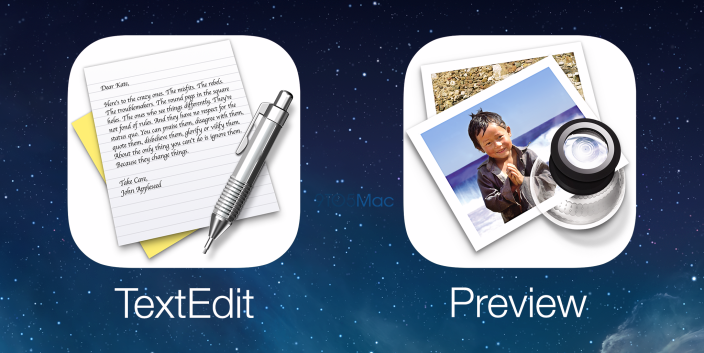 iOS 8 TextEdit Preview