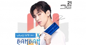 """Vivo V9 x BAMBAM GOT7 Exclusive Fan Meet"" พร้อมกับการเปิด Pre-Order ""Vivo V9 FIFA Blue Edition!"""