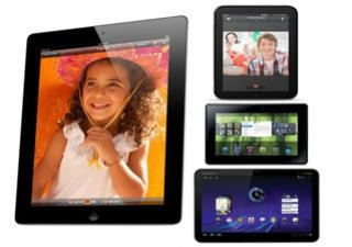 Tablet: เทียบสเปค iPad 2 vs. Motorola Xoom vs. HP TouchPad vs. BlackBerry PlayBook!