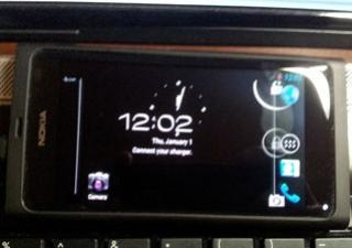 Android: ภาพหลุด! Nokia N9 รันบน Android 4.0 Ice-Cream Sandwich!
